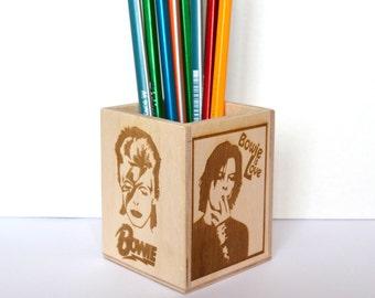 David Bowie,  Ziggy Stardust, pen holder, Blackstar, David Bowie gift