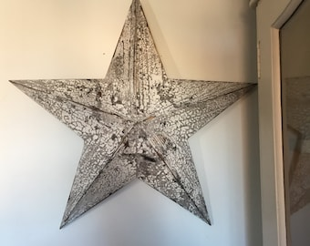 Shabby chic amish star