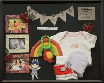 Shadow Box, Baby's first outfits, Going home from the Hospital