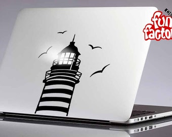 Lighthouse Macbook Decal Sticker  0063mac