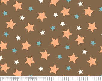 Star Fabric Quilting Cotton - Mod Tod c2743 Sheri Berry by Riley Blake Designs - Sewing Projects, Apparel Fabric, Craft Supplies by the Yard