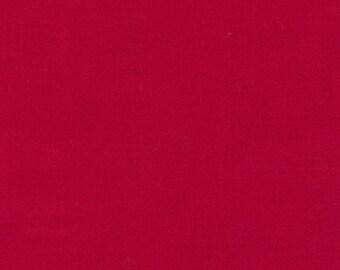 Kona Cotton Cardinal Red half yard, Robert Kaufman, designer fabric 100% cotton fabric