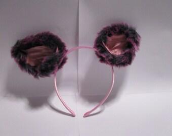 Pink Headband Ears