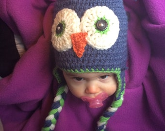 Little critter owl hat