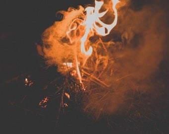 Campfire | Limited Edition | A3 print