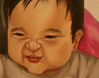 Personalized Portrait Painting