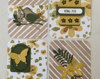 Project Life Filler Cards-Bird and Butterfly