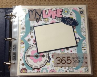 8x8 Premade Scrapbook Pages Complete with Album