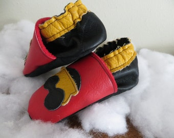 Toy Train Booties