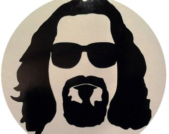 The Dude Sticker- Big Lebowski inspired