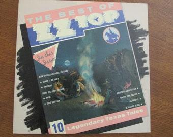 ZZ Top - The Best of ZZ Top - 1977 Vinyl LP