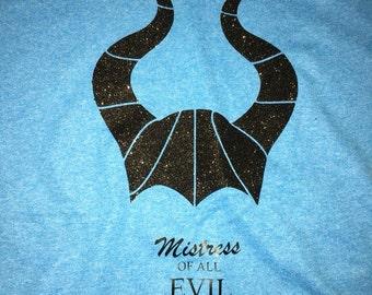 Maleficent, disney maleficent, maleficent shirt, custom maleficent shirt