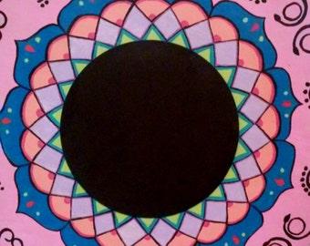 Mandala Chalk Board