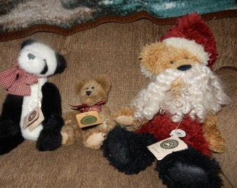 Retired Boyds Bears - Lot of 3