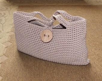Crochet handbag /Knitted handbag/ Summer bag/Handmade bag