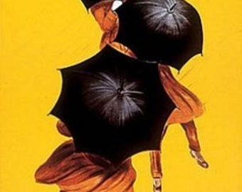 Leonetto Cappiello Poster - Parapluie Revel - Rare Hot New 24X36