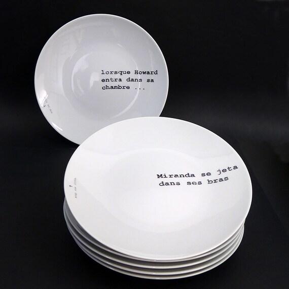 Howard - Typographic polar roleplay plates