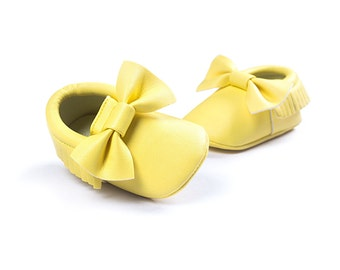 SALE %50 off!!! Baby Shoes .Fashion Tassel Baby Shoes . Soft Sole Leather Shoes . Boy/Girl Infant,Toddler Moccasins.0 - 6  mos .