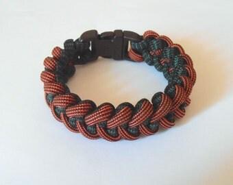 Survival bracelet Sharktooth with 1/2'' plastic buckle