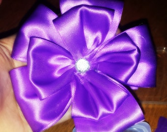 Large Ribbon Flower Baby Headband