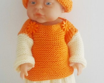 Beautiful Hand Knitted Dolls Set (for 16 (40cm) to 18 (45cm) inch dolls)