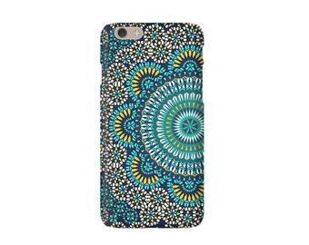 iPhone 7 Case, iPhone 6S case mandala Samsung S6 S6 Edge Case turquoise Galaxy S8 Case iPhone SE Case iPhone 6S Plus 6 Plus case mandala