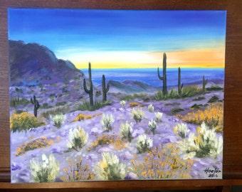 Sunset in Scottsdale, Arizona