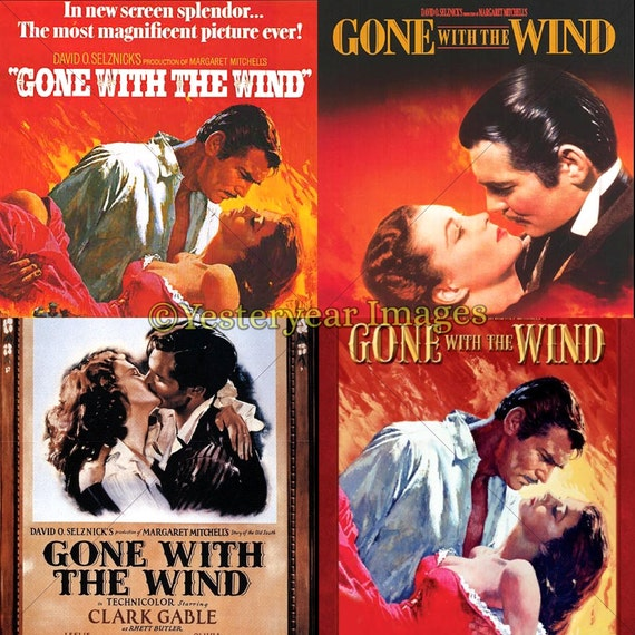 Vintage gone with the wind movie posters by yesteryearimages - Gone with the wind download ...