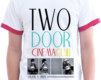 """Two Door Cinema Club Irish Indy Rock Band """"What You Know"""" Garage Rock T Shirt For Swag Rocker Collection"""
