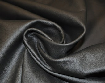 Black Leather Hide Upholstery Whole Full Cow Hide 40 Square Feet