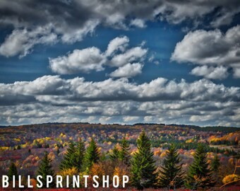Dolly Sods / West Virginia / Landscape + Nature + Fall + Autumn + Outdoor + Mountain + Color Photography / Fine Art Print