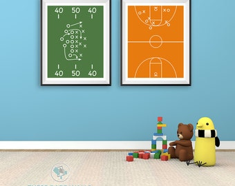 basketball bedroom decor. basketball court print, decor, size 8x10, printable bedroom decor e