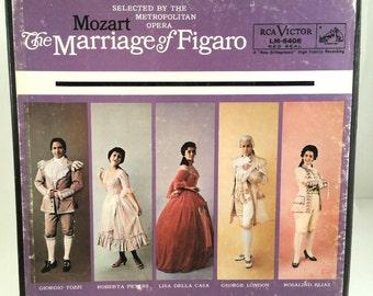 Mozart The Marriage Of Figaro Opera 2 LP Box Set