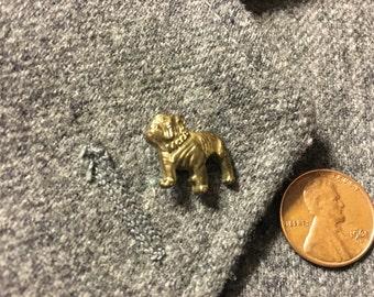 Bulldog Pin or tie tac