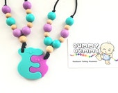 Gummy Gemms Koala BFF Mother & Baby Matching Silicone Teething Necklace | Bite Beads Nursing Necklace | Teether Chewing Beads | Chew Jewelry