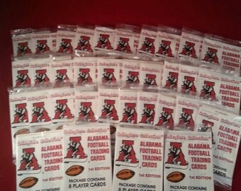 Trading Card's,1989 Alabama football trading cards