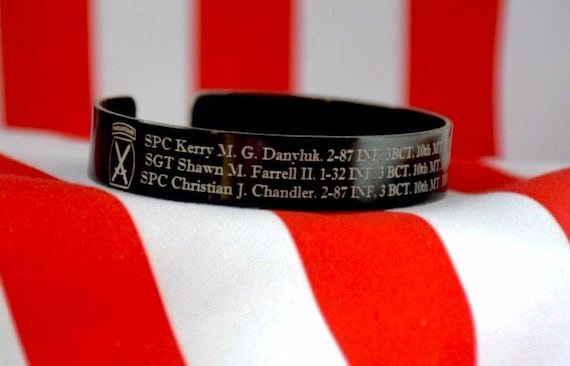 Memorial Bracelet Honor The Fallen By Horschelprecisiondes
