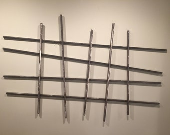 Metal Wall Sculpture: Hashtag