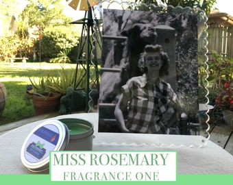 Miss Rosemary Soy Candle - Tin