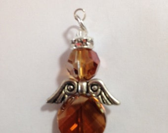 Genuine Swarovski Angel Pendant