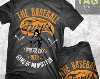 T-shirt FURIES BASEBALL the WARRIORS Gangs 1979 maglia Vintage cult movie
