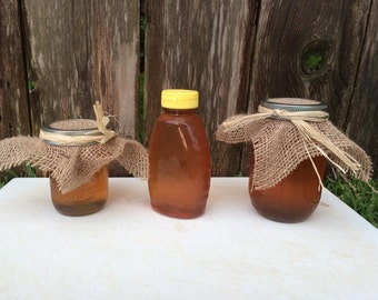 1 lb Raw, Unfiltered Honey