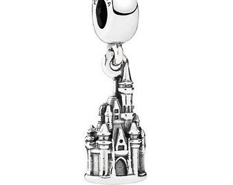 Authentic Pandora Disney's Cinderella Castle Dangle Charm