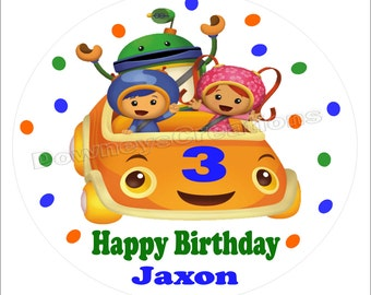 TEAM UMIZOOMI BIRTHDAY-Iron on transfer T-shirt image