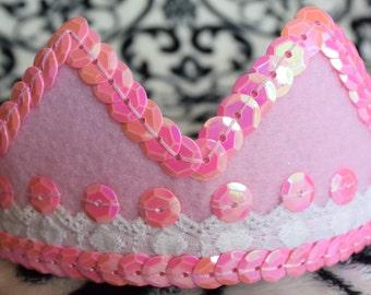 Princess Pink Crown