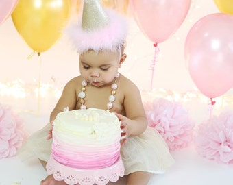 Birthday Hat, Cake Smash Hat, Party Hat, Photo Prop