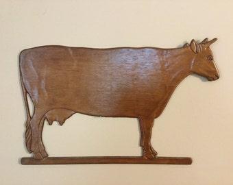 Cow wall decor