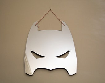 BATMAN mirror for super hero! acrylic mirror for kids room, nursery room