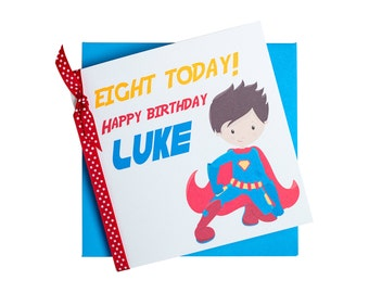 Personalised Superhero Card