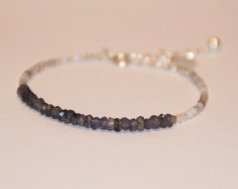 Bracelet gemstones and argent925eme